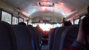 Bus ride there